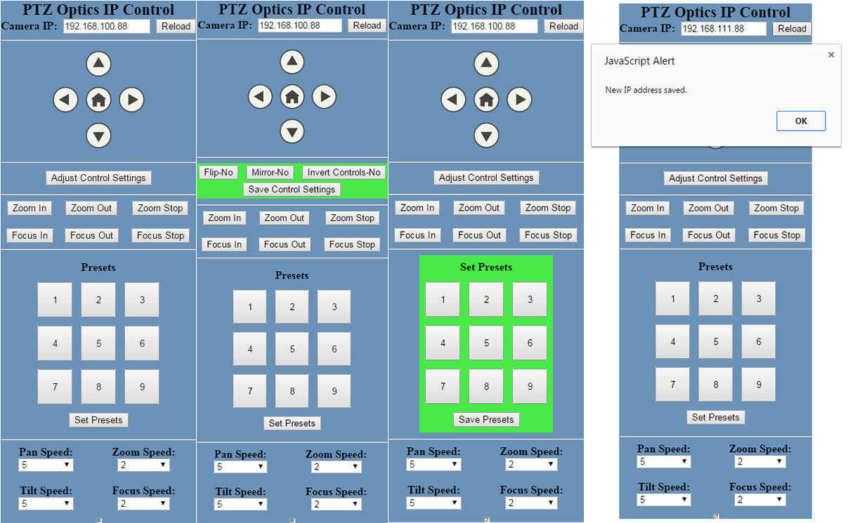 New ptzoptics ip control software ptzoptics for Ip camera design tool