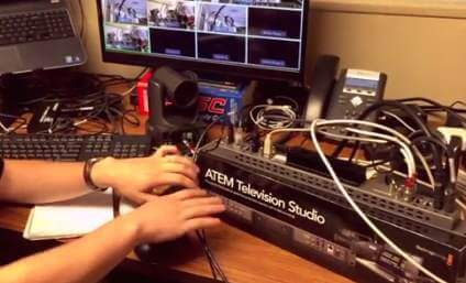 BlackMagic ATEM Television Studio