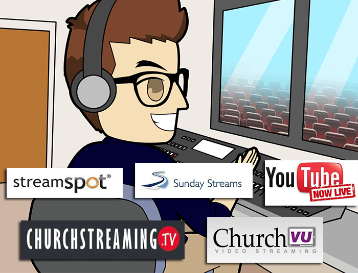 Top live streaming services for Houses of Worship