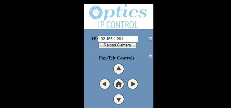 PTZOptics Control Software