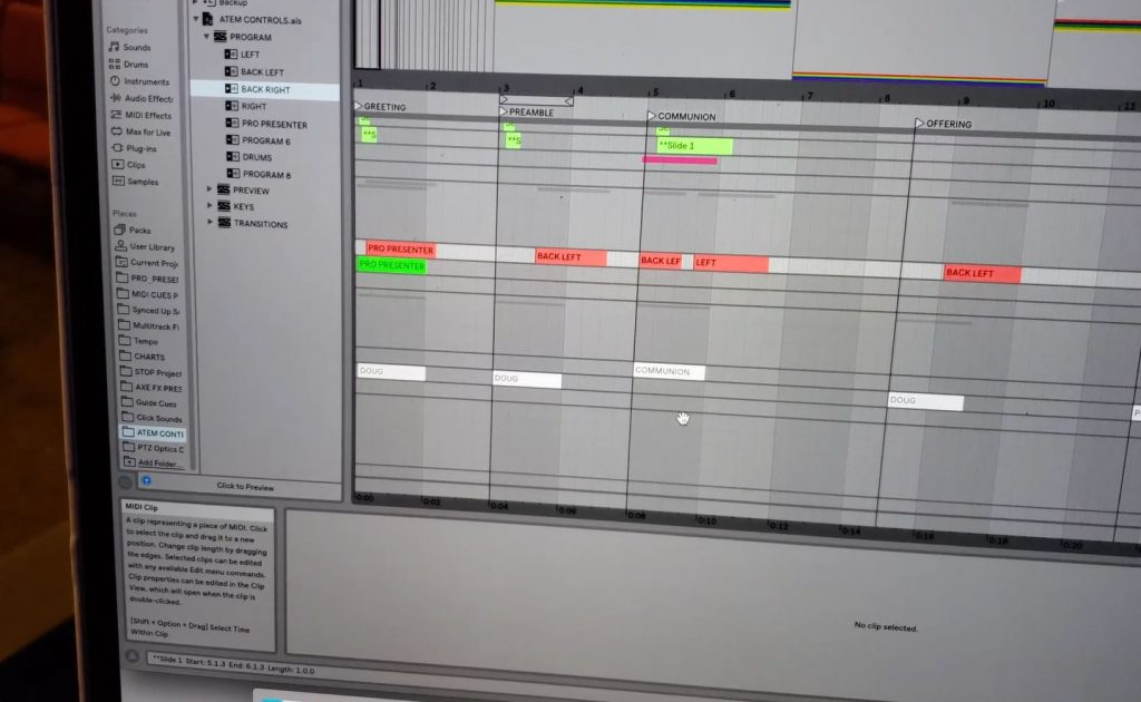 Ableton Church System