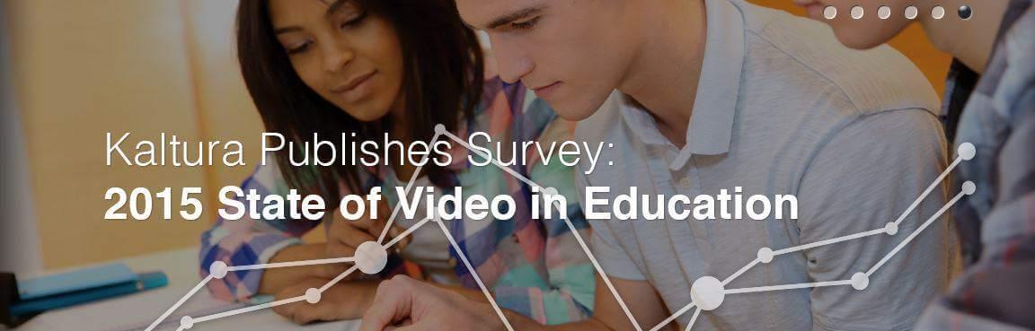 Kaltura Video in Education