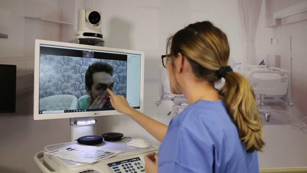 Telemedicine Solutions with Camera