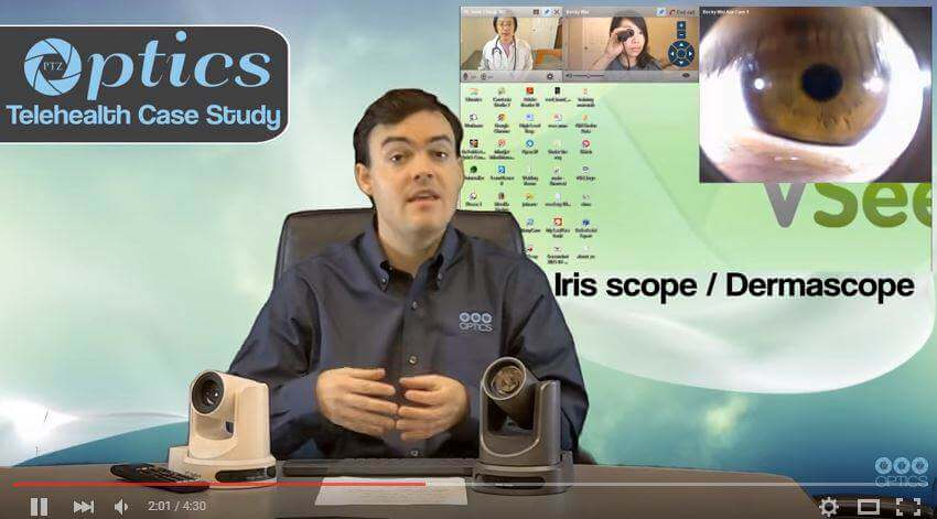 VSee adds PTZOptics camera control for Telemedicine