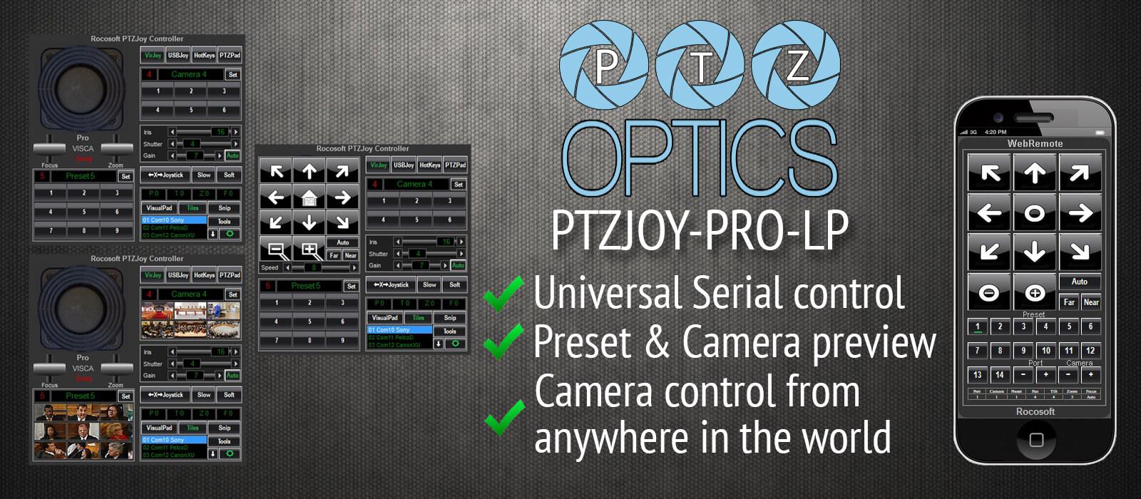 Ptzoptics tricaster control software basic fandeluxe Images
