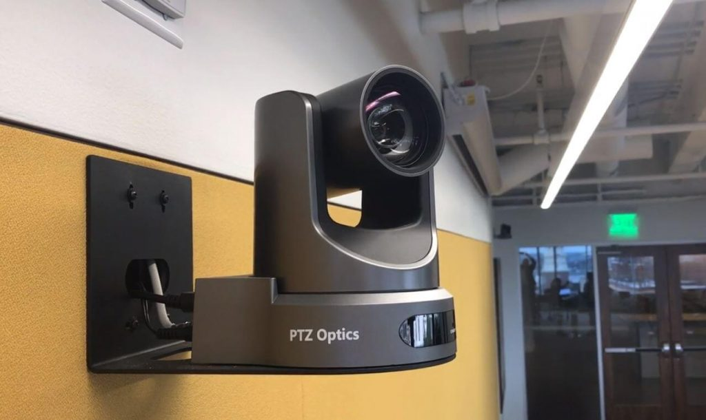 PTZ Camera Wall Mount Picture