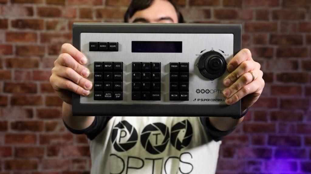 PTZ Camera Control Options