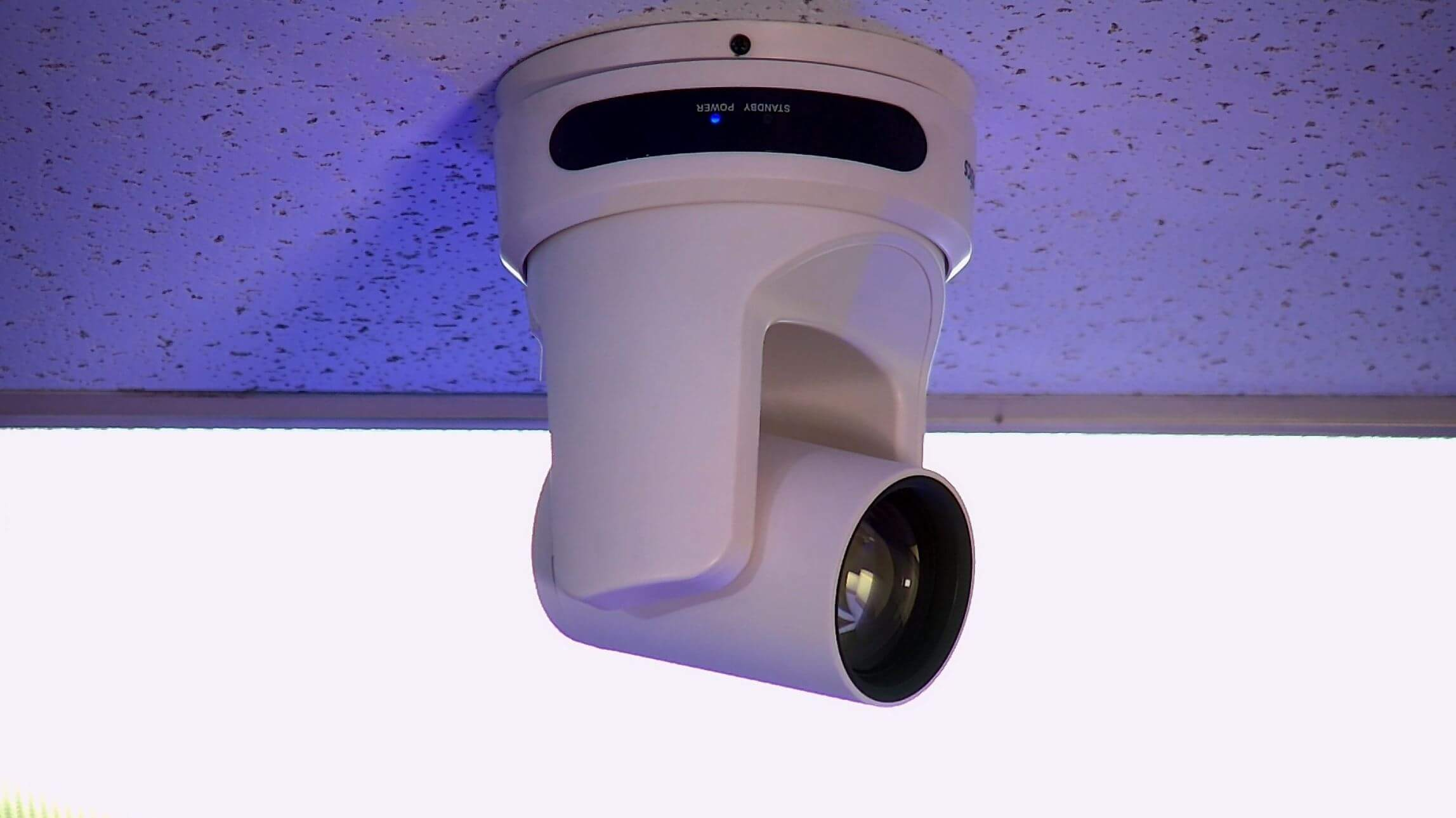 Ceiling Mounted PTZ Camera