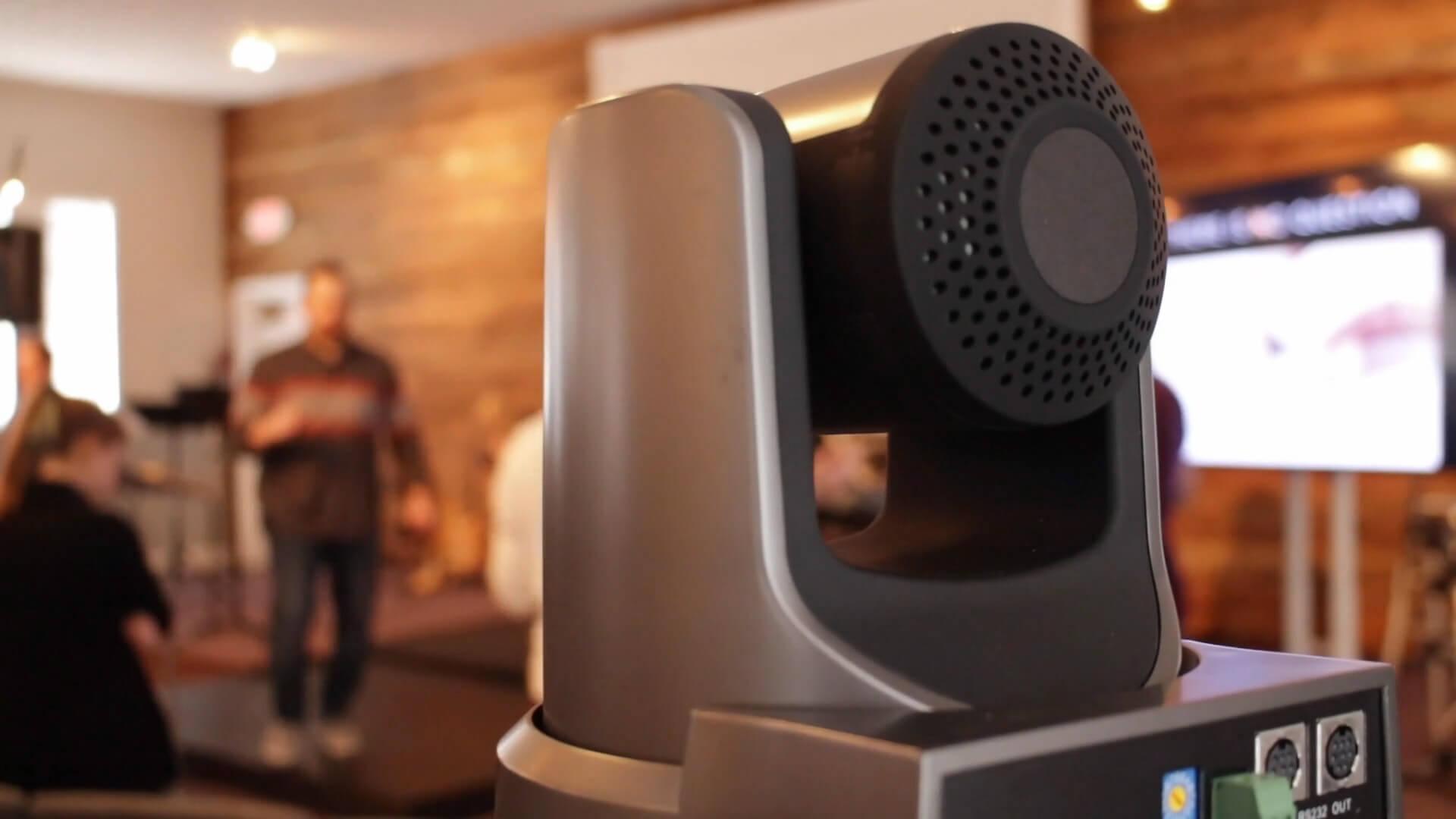 PTZ Camera for Church Speech