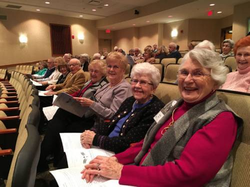 Church Streaming to Senior Center