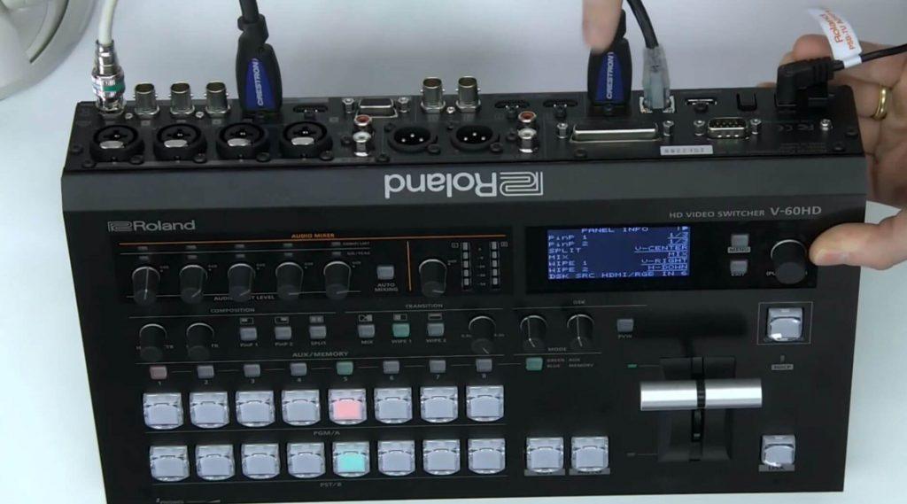 Roland PTZ Video Switcher