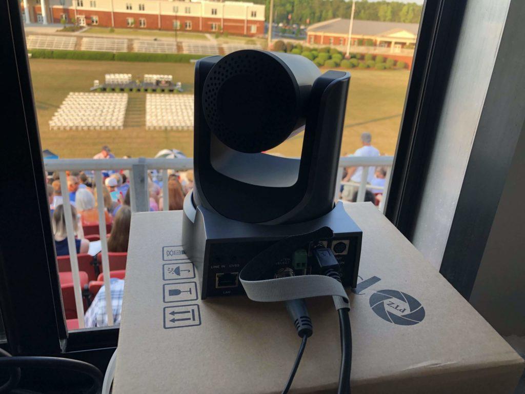Camera for Live Streaming School Graduations