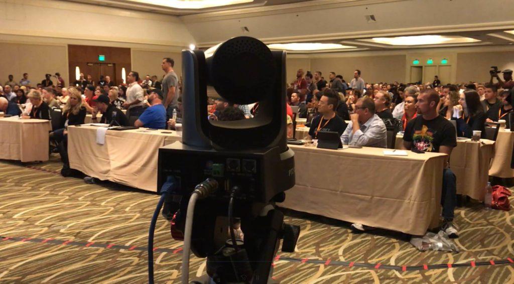 Large Crowd PTZOptics Camera