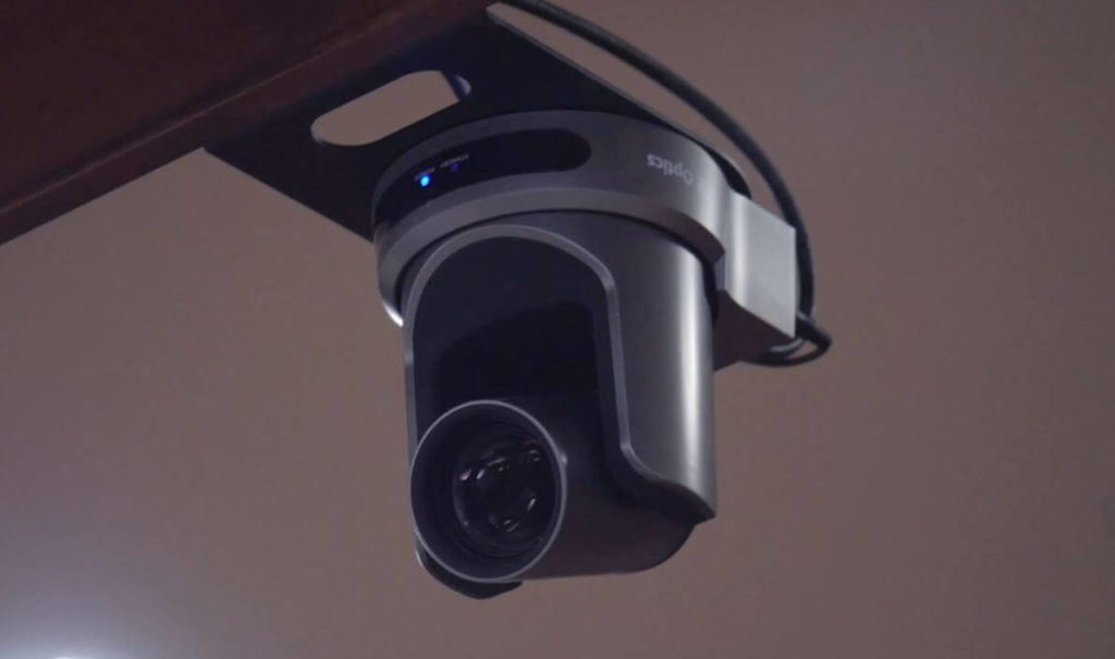 PTZ Camera Installed in Court Room