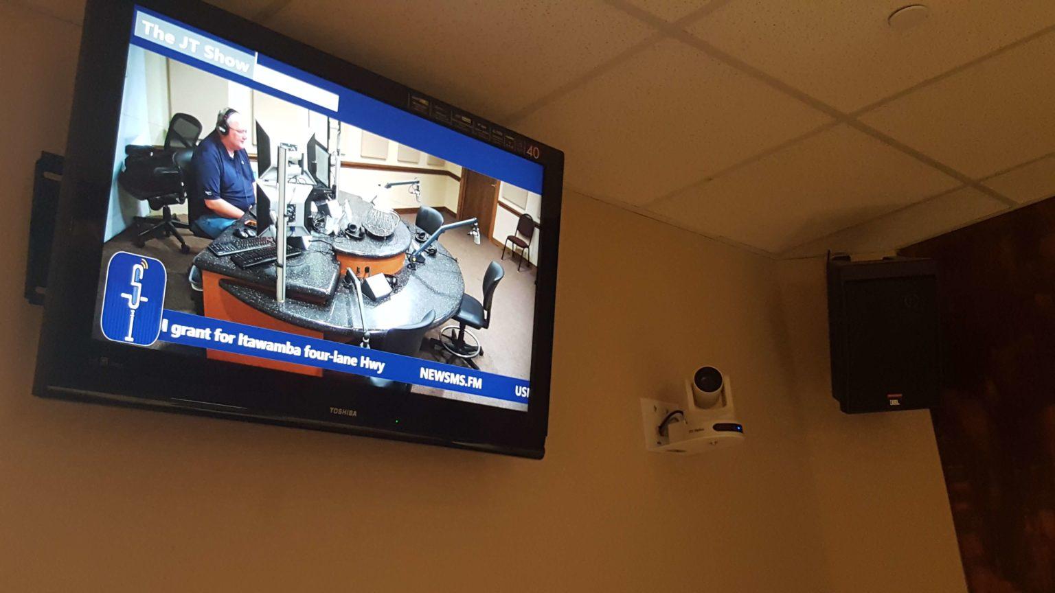 PTZ Camera for Radio Station Live Broadcast