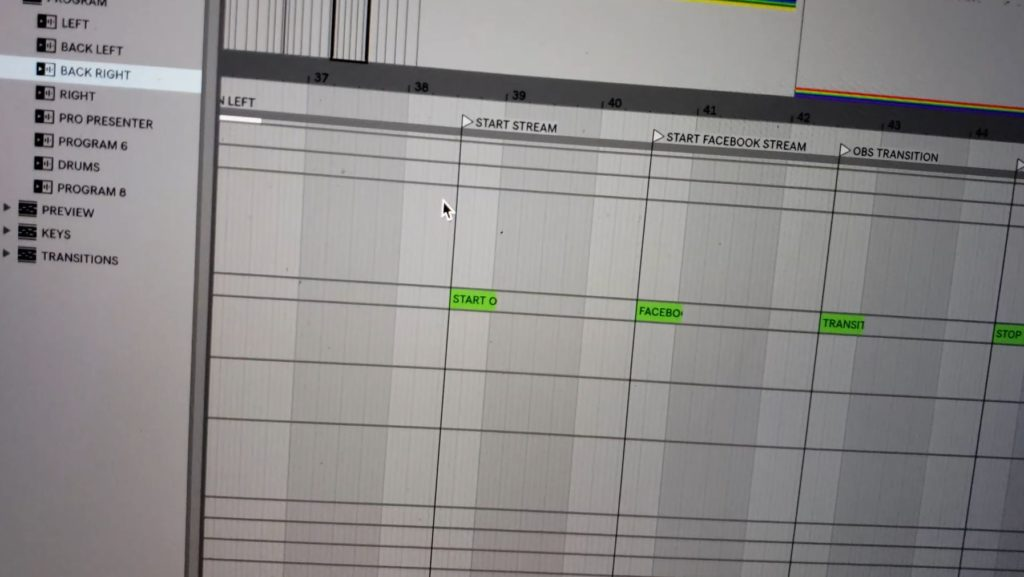 Start Live Streaming from Ableton