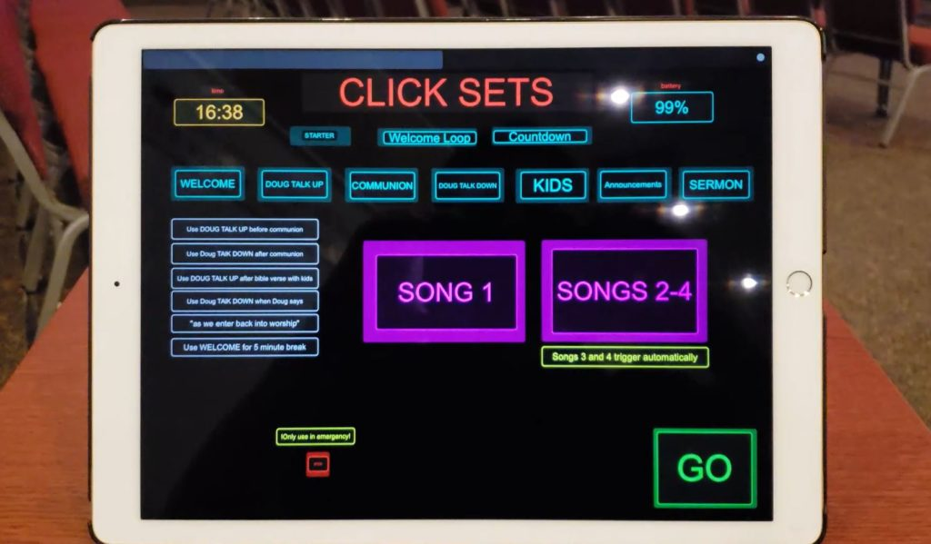 Touch OSC Controller for Ableton