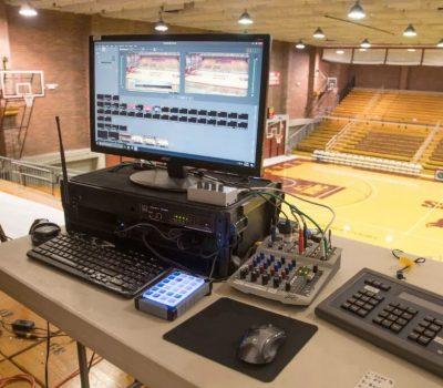 Wirecast basketball streaming setup