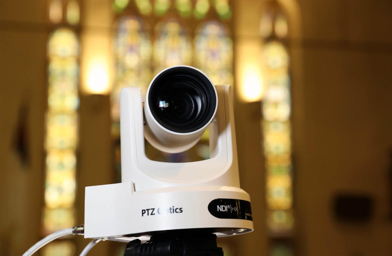 PTZ camera for church