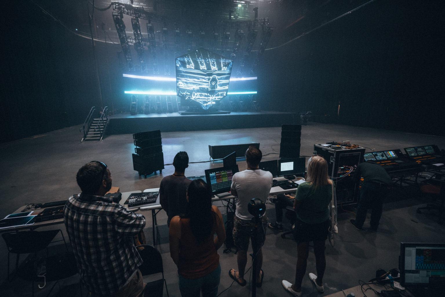 Deadmau5 DJ Streaming Setup