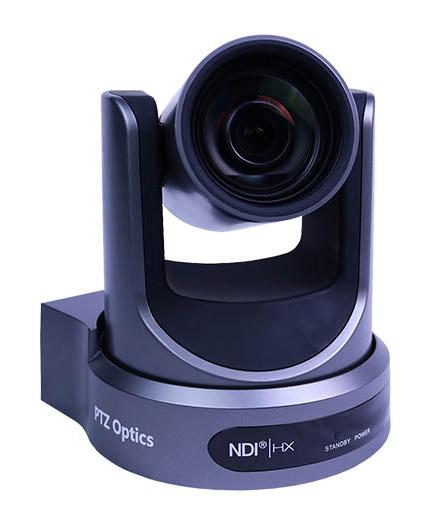 NDI PTZ Video Camera Side View