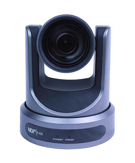 NDI PTZ Video Camera Black Front