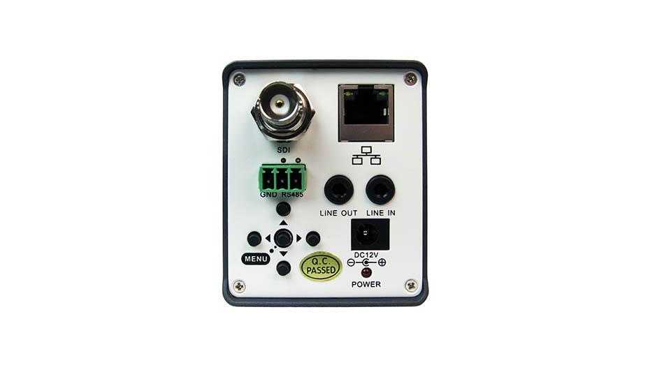 PTZ Optics Zcam back buttons