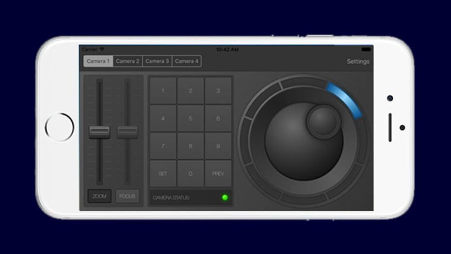 SDI Video Camera Application