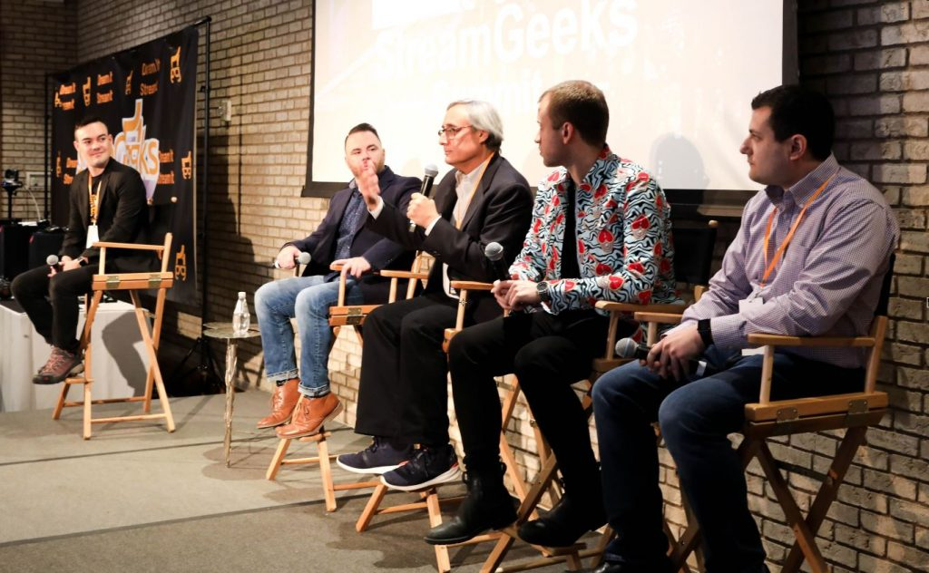 StreamGeeks Speaker Panel 2019