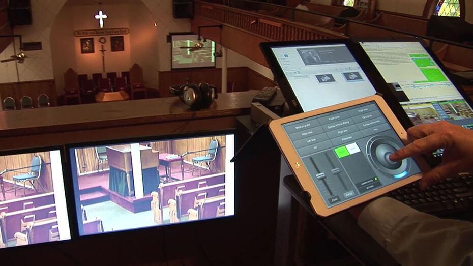 PTZ Camera Control iOS app