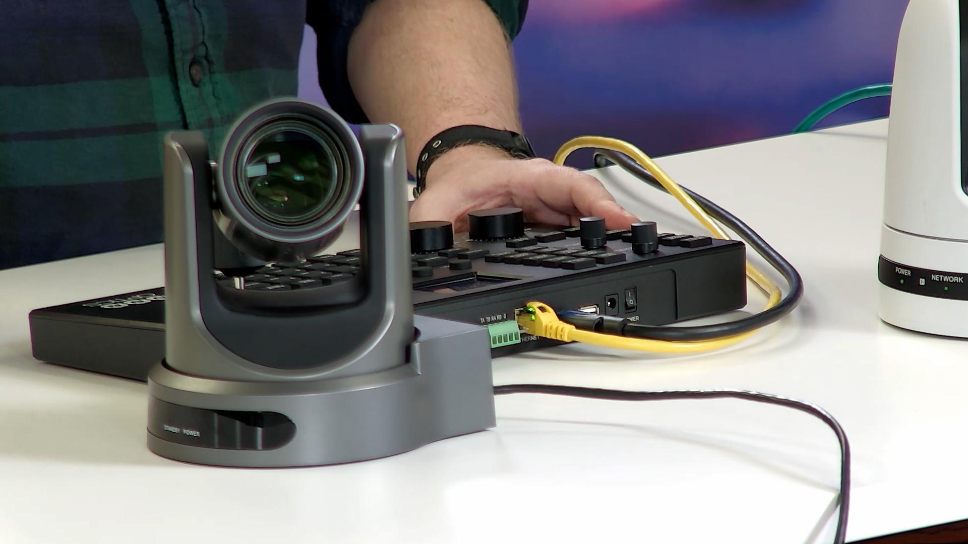 PTZOptics SuperJoy with PTZ cameras