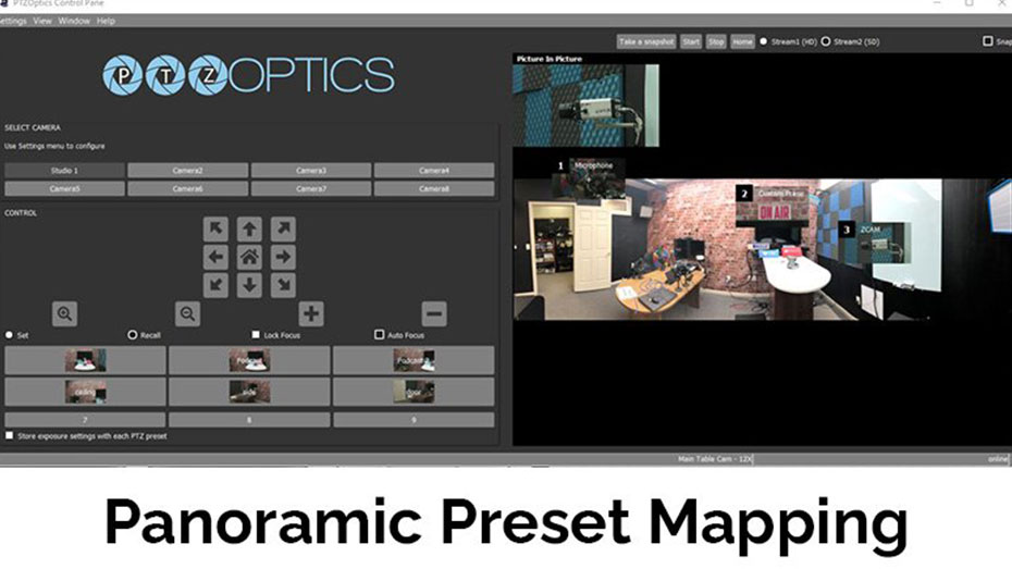 Panoramic-PTZ-Preset-Mapping