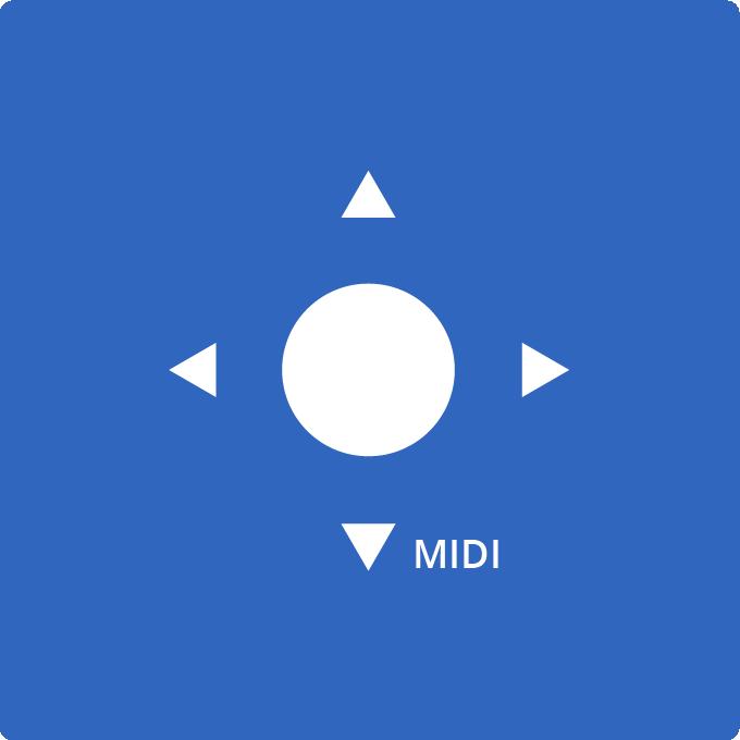 MIDI camera control app